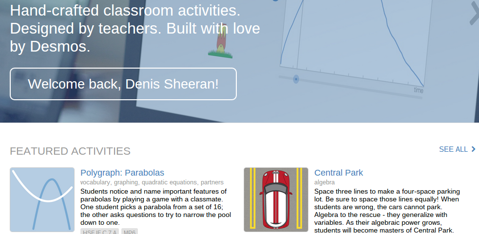11 Places To Find Desmos Activities For Your Classroom