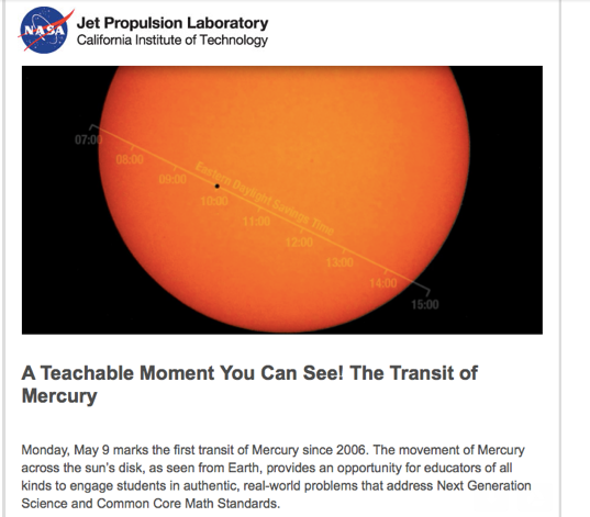 Mercury, not Freddie, not Rising, not Sable…but the real Mercury