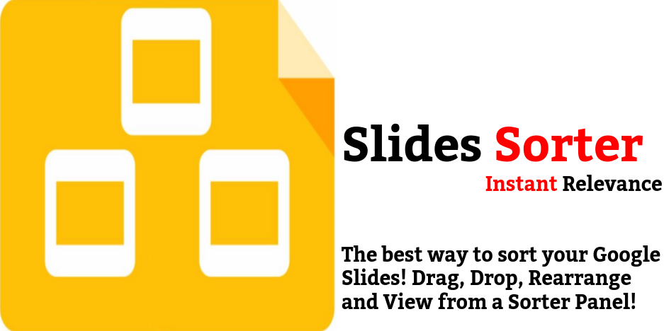 Brand New Chrome Extension For Slides Instant Relevance